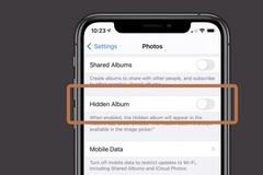 Kẻ xâm nhập có chủ đích vẫn có thể xem ảnh đã ẩn trên iOS 14