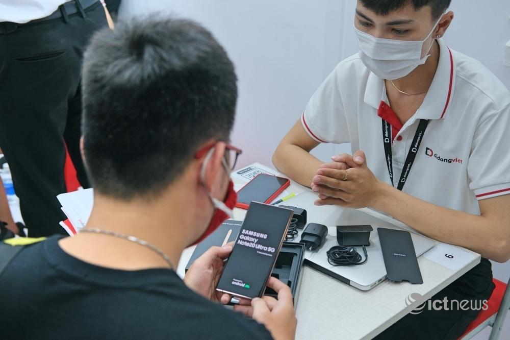 Galaxy Note20 được mở bán tại Việt Nam