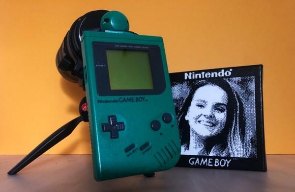 Biến máy chơi game đồ cổ thành máy ảnh chụp chân dung