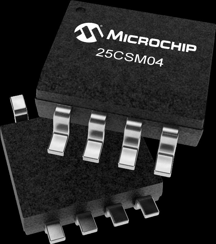 Microchip ra mắt EEPROM Serial 4 Mbit