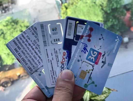 Không cấp phép các dịch vụ mới cho nhà mạng nếu để tồn tại SIM rác