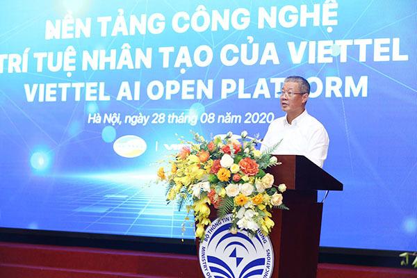 Bộ TT&TT ra mắt nền tảng công nghệ trí tuệ nhân tạo dành cho người Việt