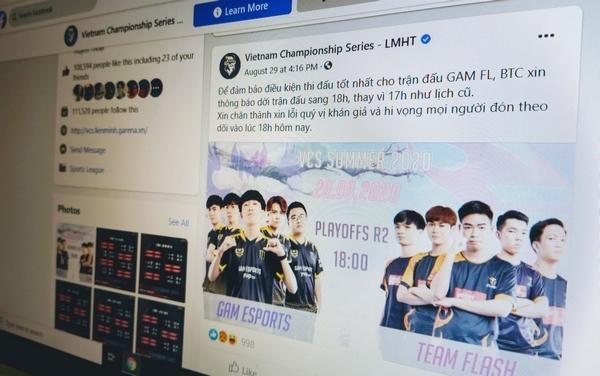 Giải LMHT của Việt Nam và Hàn Quốc bị gián đoạn hàng giờ đồng hồ