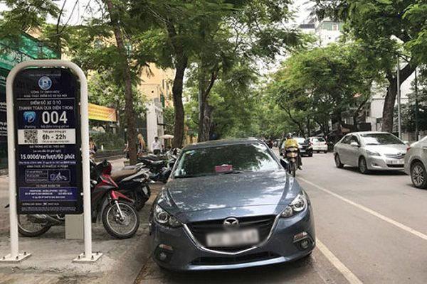 Hà Nội tạm dừng thí điểm mô hình trông giữ xe iParking từ 1/9
