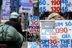 Các nhà mạng khóa và thu hồi 21 triệu SIM kích hoạt sẵn