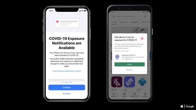 Apple, Google tích hợp công nghệ truy vết Covid-19 vào iOS và Android