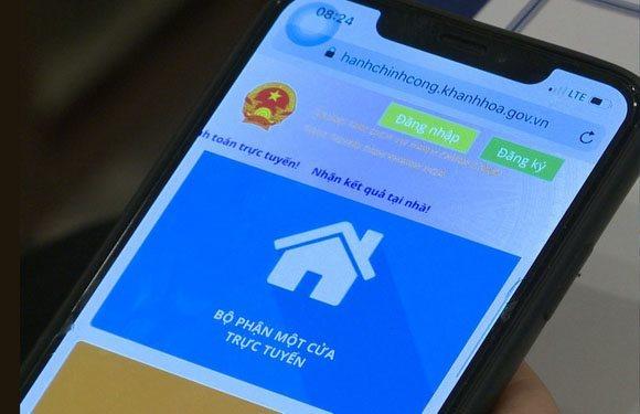 Bí quyết giúp Khánh Hòa tăng trưởng nhanh dịch vụ công trực tuyến mức 4