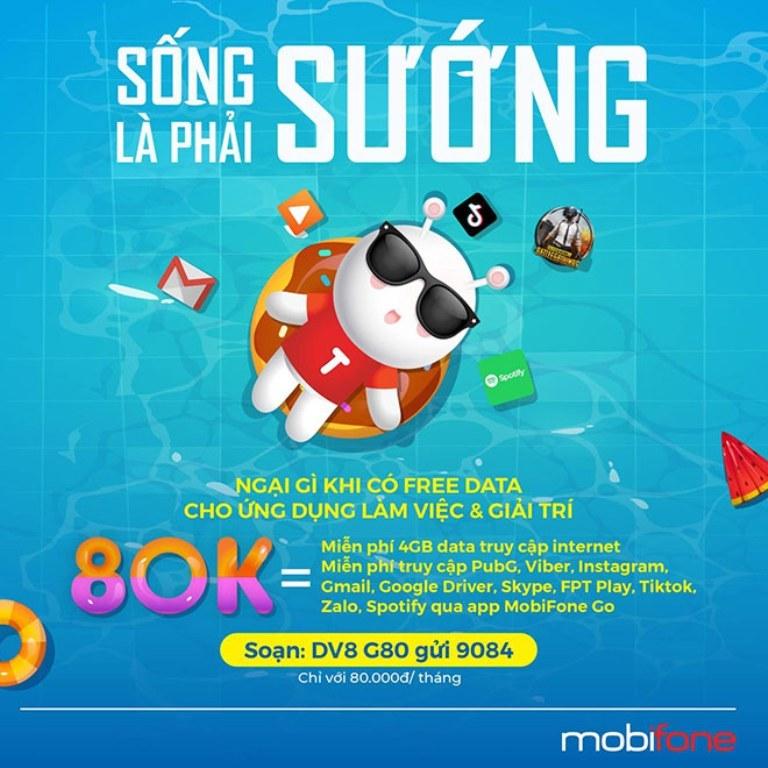 Gói cước G80 của MobiFone, lựa chọn ưu tiên của giới văn phòng cho tác vụ công việc và giải trí