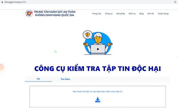 """Công cụ """"Make in Vietnam"""" giúp nhận diện mã độc mã hóa dữ liệu tống tiền"""