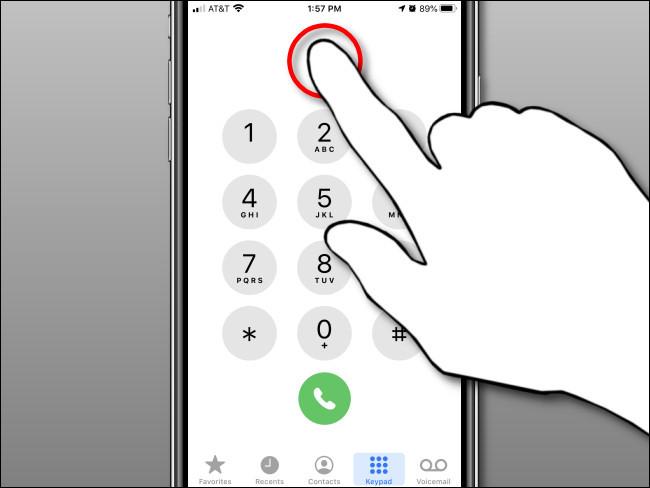 Hướng dẫn 'paste' số điện thoại để gọi trên iPhone