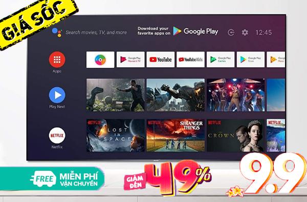 Chọn mua smart TV giảm giá loại nào dịp 09/09?