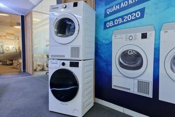 Beko ra mắt hai máy sấy quần áo tại Việt Nam