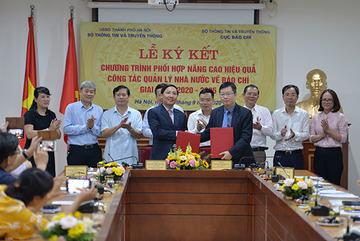 Cục Báo chí và Sở TT&TT Hà Nội tăng cường hợp tác quản lý báo chí