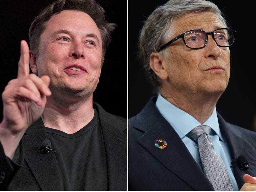 Elon Musk chê Bill Gates không biết gì về xe tải điện