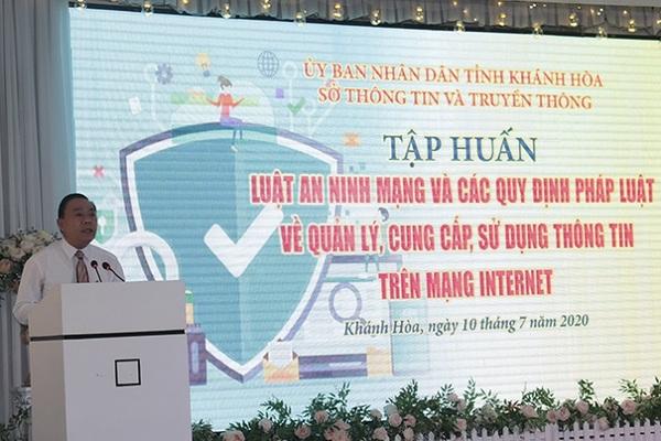 Khánh Hòa tổ chức tập huấn Luật An ninh mạng