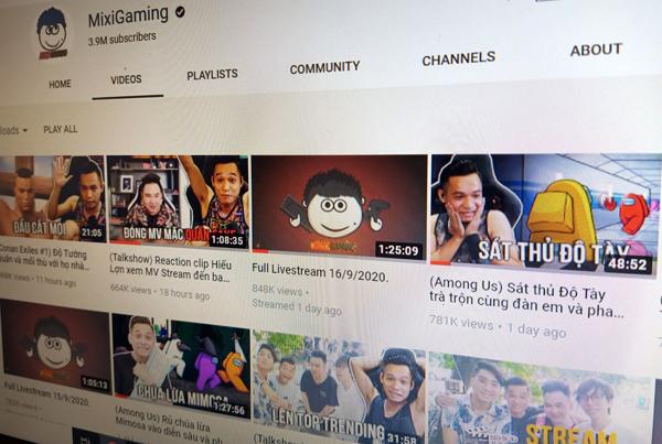 Độ Mixi nói tục trên YouTube nhưng chưa giới hạn độ tuổi kênh
