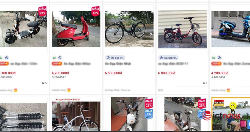 Xe đạp điện và linh kiện xe điện lậu 'làm loạn' thị trường Việt