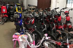 """Xe đạp điện và linh kiện xe điện lậu """"làm loạn"""" thị trường Việt"""
