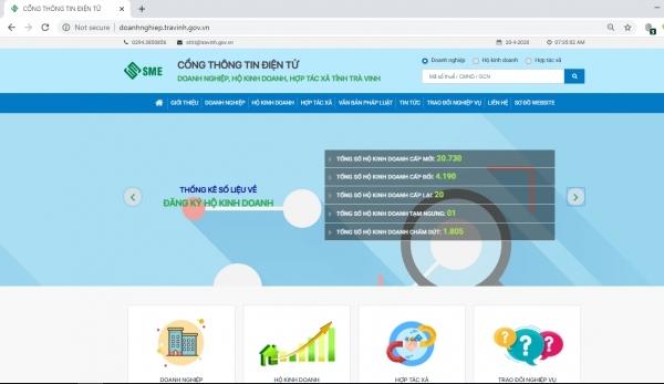 Trà Vinh: Cổng thông tin doanh nghiệp phải bảo đảm an toàn thông tin