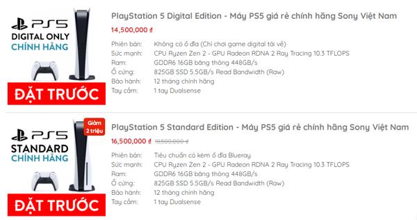 Vì sao PlayStation 5 ở Việt Nam được chào giá đắt gấp đôi?