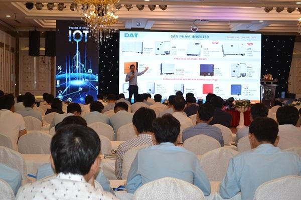 Ứng dụng giải pháp năng lượng tái tạo trên nền tảng IoT