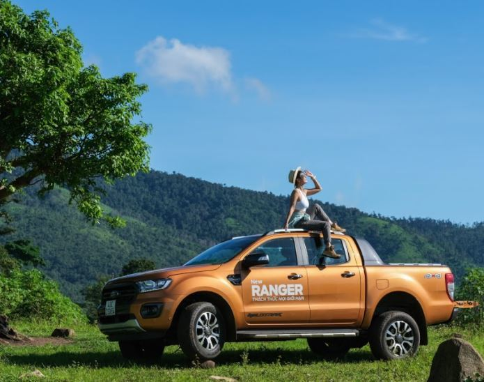 Phụ nữ chọn xe bán tải: Không chỉ là cá tính