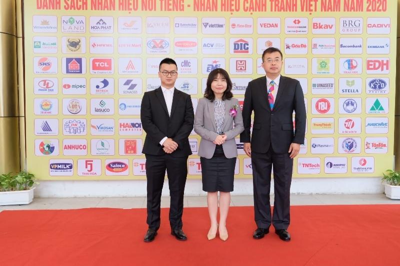 """TCL nhận giải thưởng top """"Thương hiệu nổi tiếng Việt Nam 2020"""""""