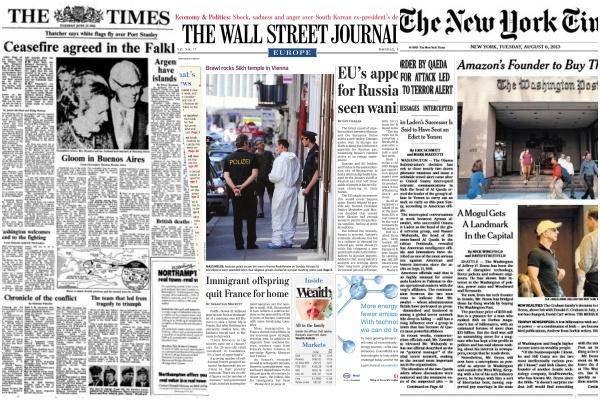 Thực tiễn báo chí thu phí từ một số phương tiện truyền thông nước ngoài