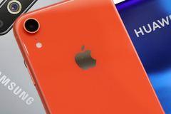 Một mình iPhone 'chấp' cả Huawei lẫn Samsung