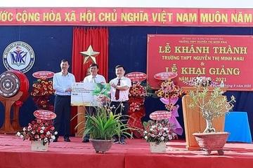 2 trường ở Khánh Hòa được tặng hệ thống điện mặt trời