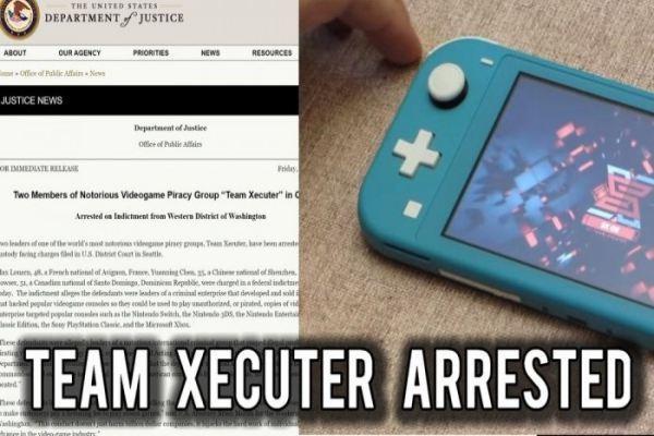 Hai thành viên của Team Xecuter bị bắt vì bán công cụ bẻ khóa Switch