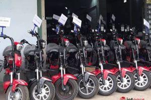 Bắt giữ hàng loạt linh kiện xe đạp điện lậu