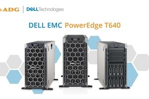 Khám phá máy chủ đa năng Dell EMC PowerEdge T640
