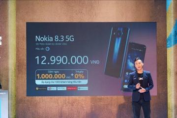 Nokia 8.3 5G về Việt Nam với giá 12,99 triệu đồng