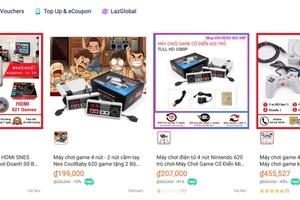 Máy chơi game 'nhái' được bán tràn lan trên mạng