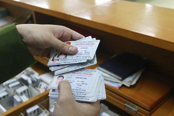 Chip điện tử sẽ được gắn ở mặt sau của thẻ căn cước công dân mới