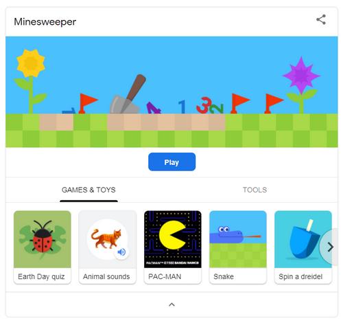 Cách chơi game hoài cổ trên Google cực đơn giản