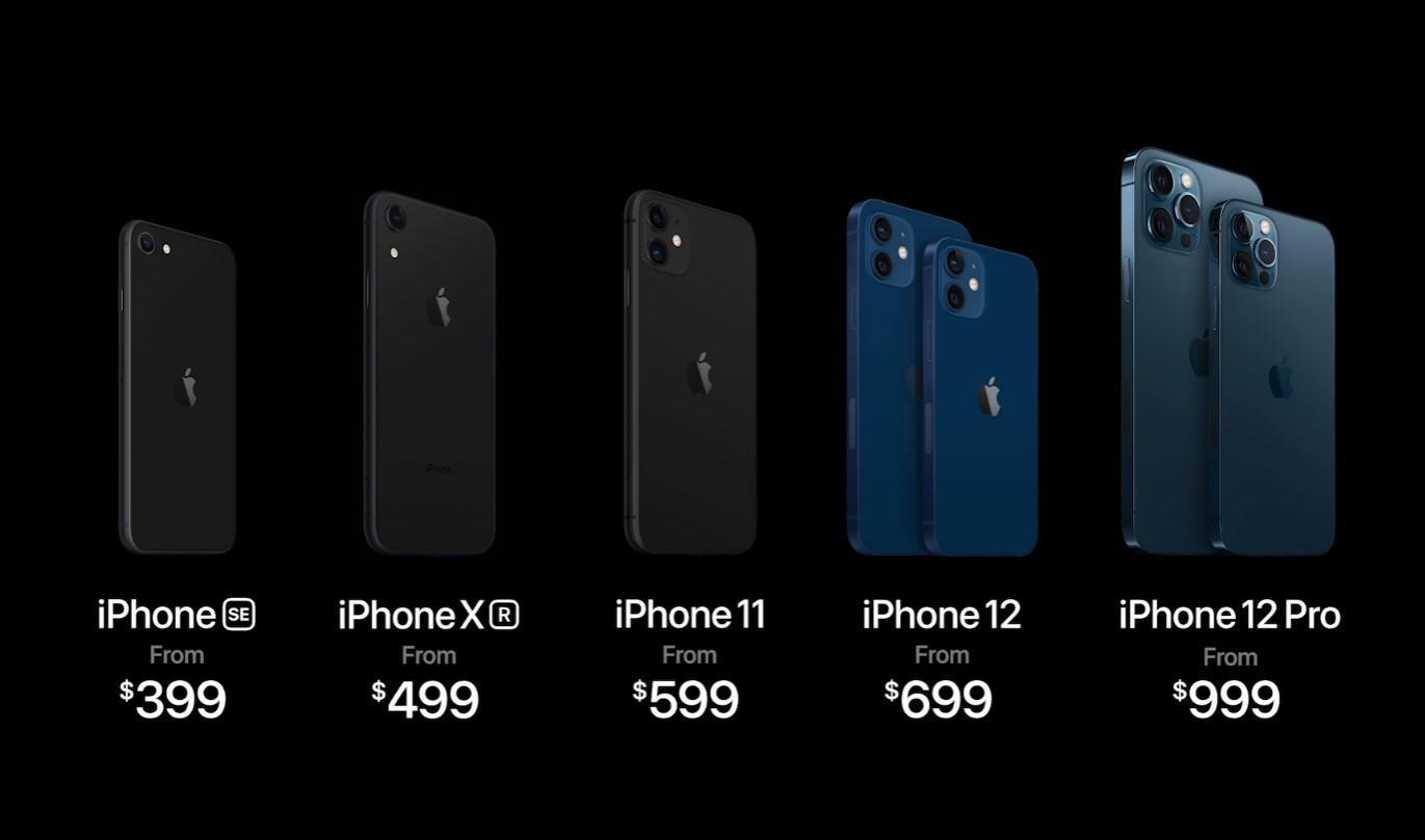 Apple ra mắt iPhone 12 cùng 3 phiên bản: mini, Pro và Pro Max
