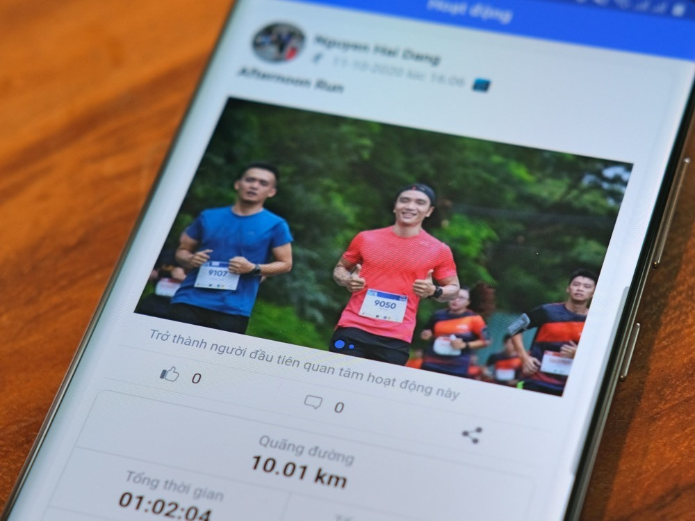 Hơn 100 ngàn người Việt tham gia giải chạy ảo