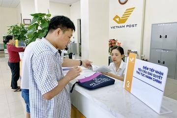 Hai thủ tục hành chính cung ứng qua dịch vụ bưu chính công ích có hiệu lực từ 26/10