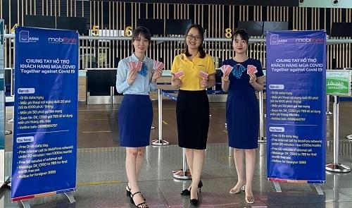 Chia sẻ khó khăn mùa dịch, MobiFone hỗ trợ dịch vụ viễn thông cho hành khách nhập cảnh vào Việt Nam