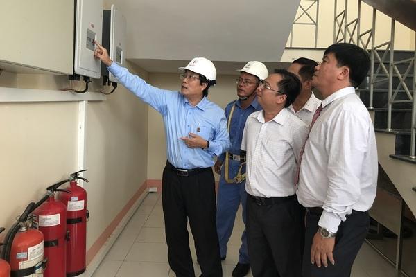 EVNCPC lắp điện mặt trời cho hàng loạt điểm trường miền Trung
