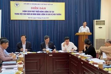 Điện mặt trời là điểm sáng nhất về phát triển năng lượng tái tạo ở Việt Nam