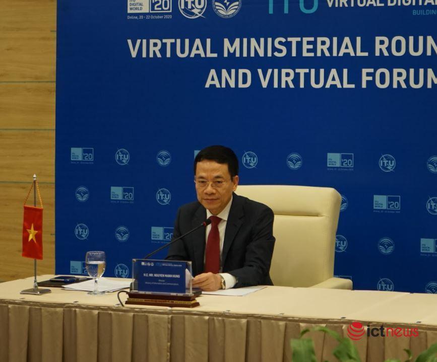 """Hội nghị Bộ trưởng ITU: Hợp tác thực hiện sứ mệnh 'cùng nhau xây dựng thế giới số"""""""