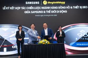 Thị trường 'smartwatch' chuyển động khi MWG ký kết với Samsung