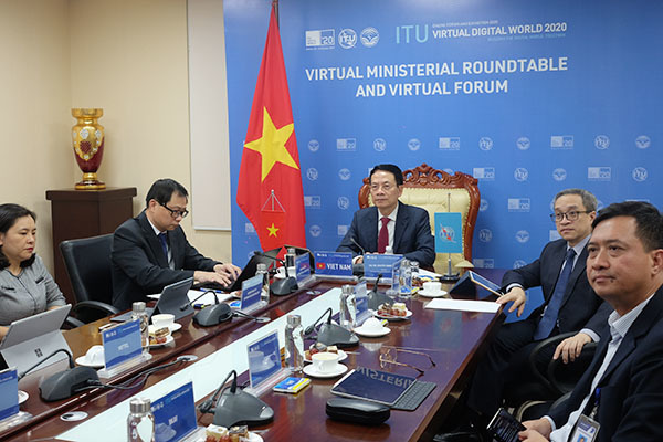 """""""Việt Nam cam kết đồng hành cùng ITU và các nước thành viên xây dựng thế giới số"""""""