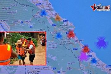 Hệ thống công nghệ dựng trong 5 ngày giải cứu hàng trăm hộ dân vùng lũ