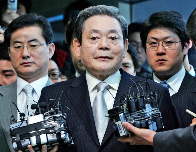 Chủ tịch Samsung Lee Kun Hee qua đời