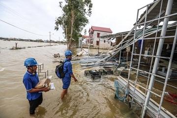 VNPT hỗ trợ các nhà mạng đảm bảo liên lạc sau bão số 9