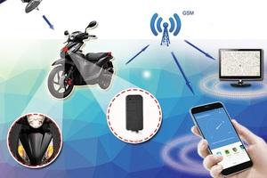 Có nên lắp định vị GPS cho xe gắn máy?